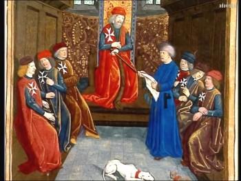 Les Templiers partent en croisade (C'est pas sorcier) | Catherine Breton